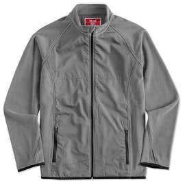 Team 365 Hybrid Microfleece Full Zip Jacket