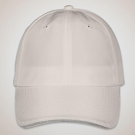 Core 365 Reflective Sandwich Performance Hat - Platinum