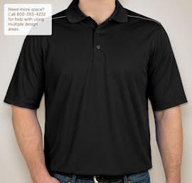Core 365 Reflective Performance Polo - Color: Black