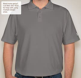 Under Armour Performance Polo - Color: Graphite