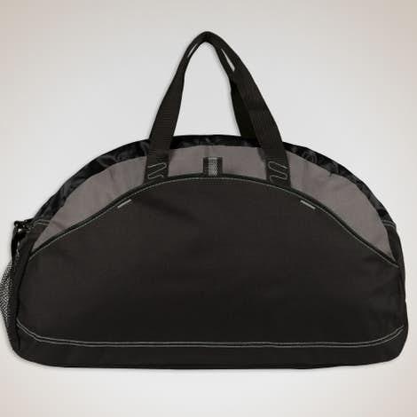 Contrast Duffel Bag - Black