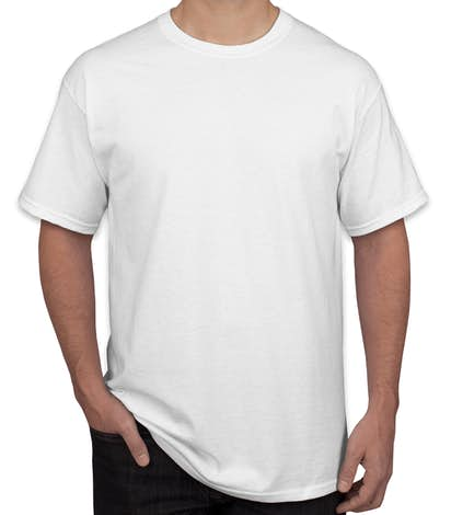 Canada - Gildan 100% Cotton T-shirt - White