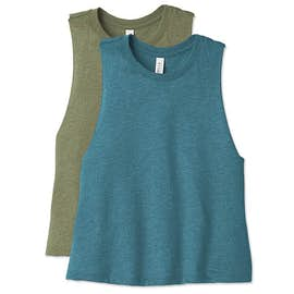 Bella + Canvas Ladies Racerback Crop Tank Top