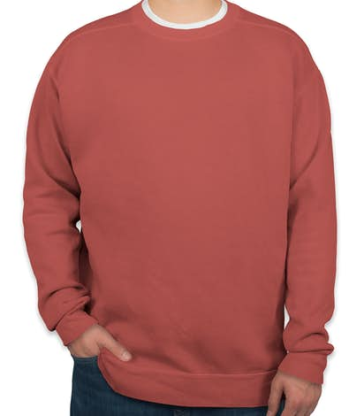 Comfort Colors Crewneck Sweatshirt - Crimson