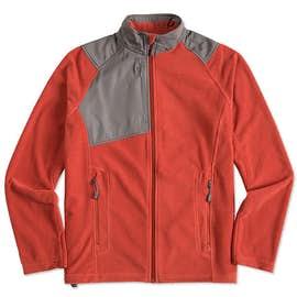 North End Colorblock Full Zip Microfleece Jacket