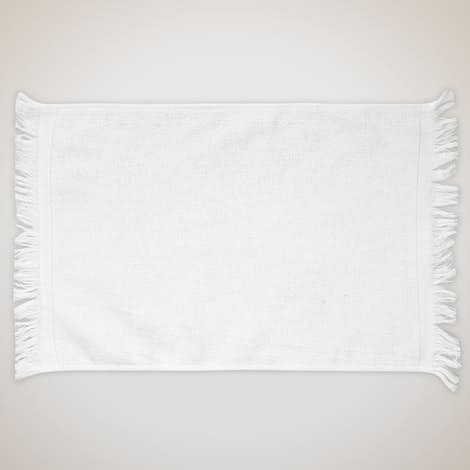 Anvil Fringed Rally Towel - White