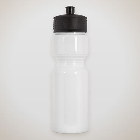 25 oz. Opaque Water Bottle - White