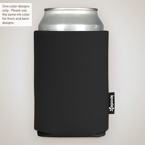 Foldable Can KOOZIE ® - Black