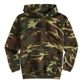 Canada - Code 5 Camo Pullover Hoodie