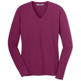 Port Authority Ladies V-Neck Sweater
