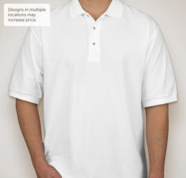 Port Authority Silk Touch Polo - Color: White