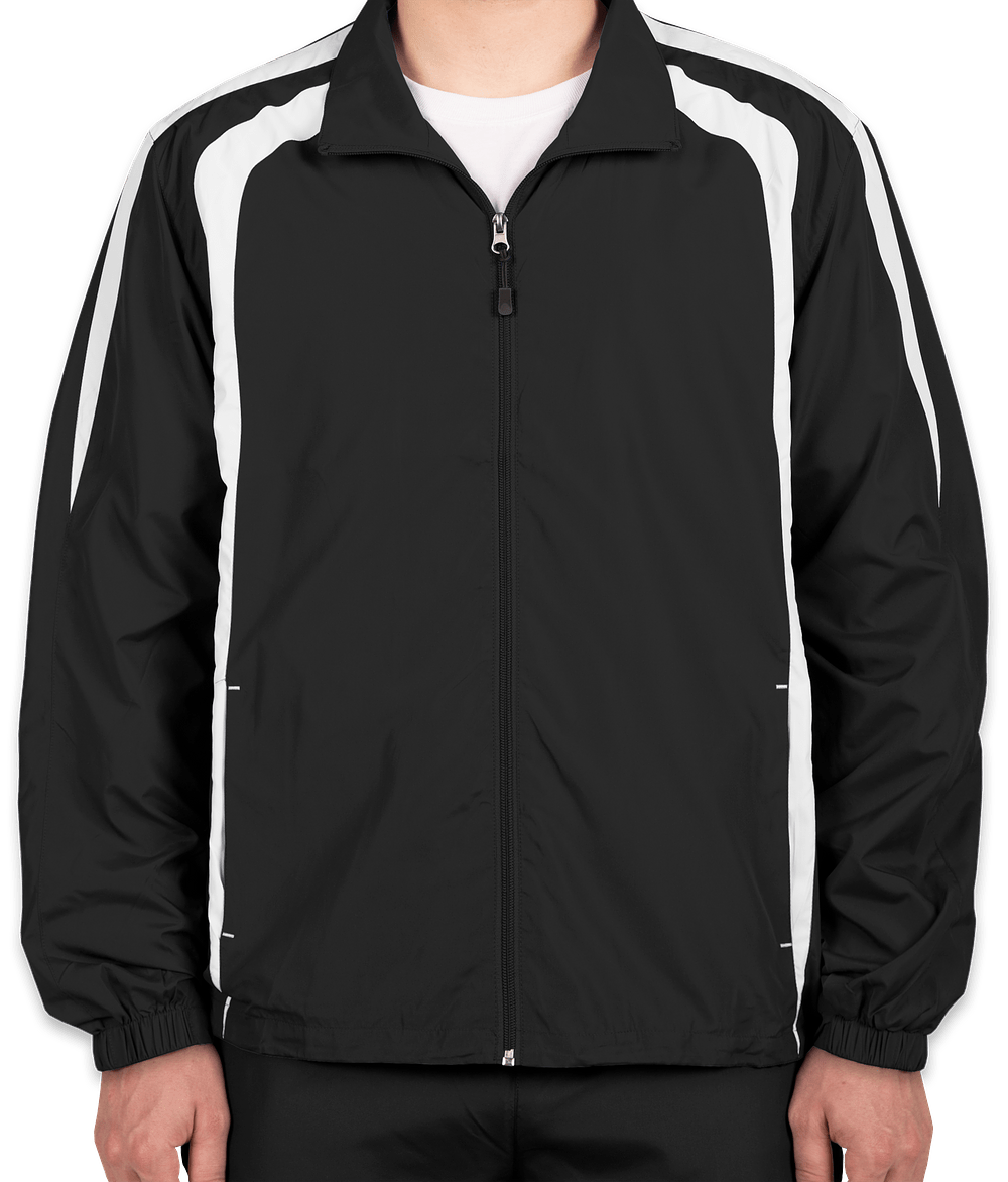 Custom Sport-Tek Full-Zip Colorblock Warm-Up Jacket - Design ...