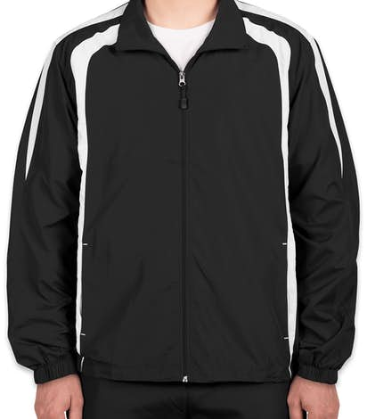 Custom Sport-Tek Full-Zip Colorblock Warm-Up Jacket - Design ...