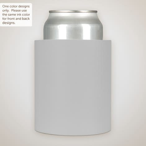 Foam Can Cooler - Gray