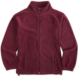 Harriton Ladies Full Zip Fleece Jacket