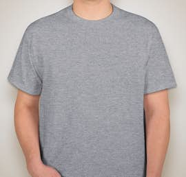 Fruit of the Loom 100% Cotton T-shirt - Color: Athletic Heather