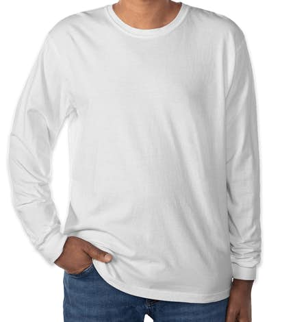 Comfort Colors 100% Cotton Long Sleeve Shirt - White