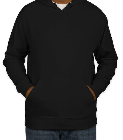 J. America Cloud Soft Pullover Hoodie - Black