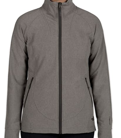 The North Face Ladies Tech Stretch Soft Shell Jacket - Medium Grey Heather
