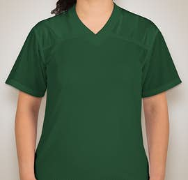 bb181a49bff ... Teamwork Ladies Overtime Replica Jersey - Color: Dark Green ...
