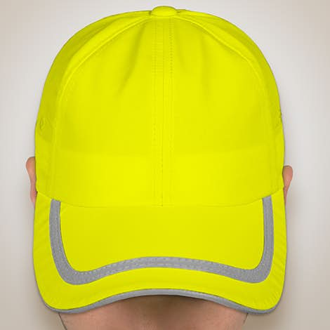Port Authority Reflective Safety Hat - Safety Yellow / Reflective