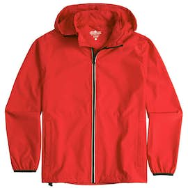 Charles River Pack-N-Go Hooded Packable Full Zip Jacket