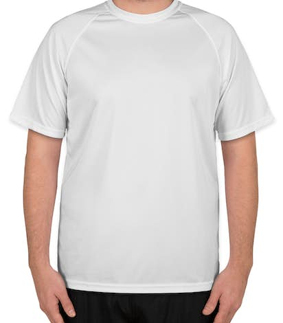 Augusta Attain Raglan Performance Shirt - White