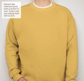 Comfort Colors Crewneck Sweatshirt - Color: Mustard