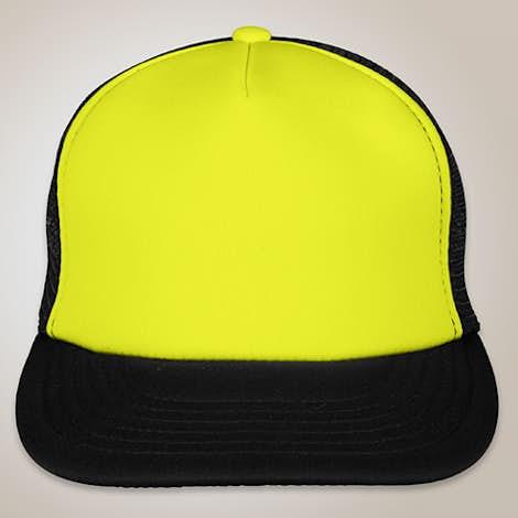 Custom District Neon Flat Bill Snapback Hat Design #0: front ixlib=rails 2 1 3&w=470&h=470&fit=crop&dpr=1&bg=ffffff&fm=p &q=39&auto= press