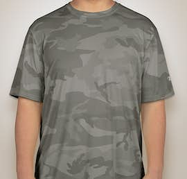 Champion Camo Performance Shirt - Color: Stone Grey Camo