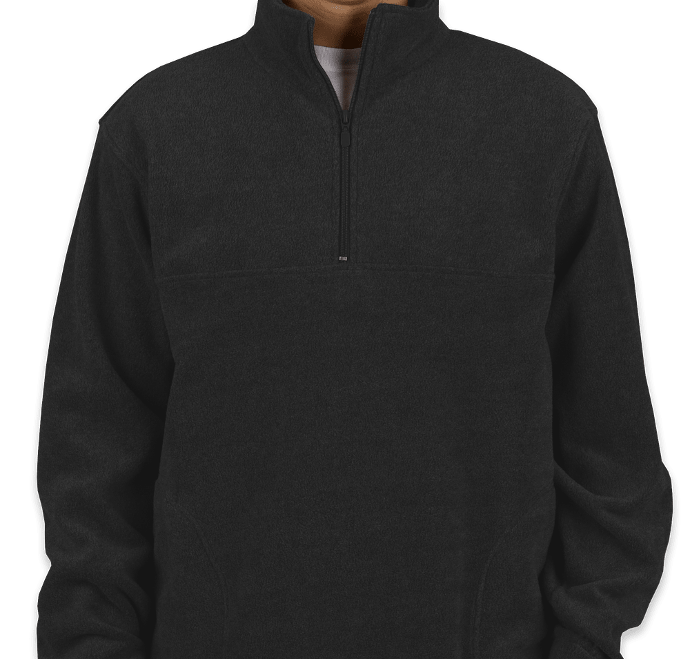 Custom Harriton Quarter Zip Fleece Pullover - Design Fleece ...