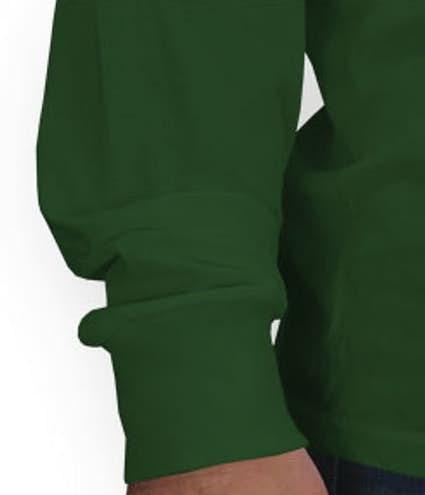Custom Jerzees Lightweight 100% Cotton Long Sleeve T-shirt ...