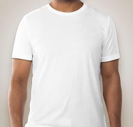 Canvas Tri-Blend T-shirt - Color: Solid White Tri-Blend
