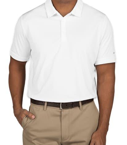 Nike Golf Dri-FIT Smooth Performance Polo - White