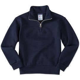 Jerzees Youth Lightweight Quarter Zip Sweatshirt