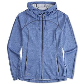 Ogio Endurance Ladies Reflective Heather Performance Full Zip
