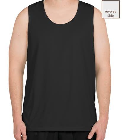 Augusta Performance Reversible Basketball Jersey - Black / White