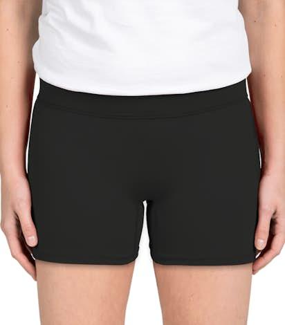 Augusta Ladies Volleyball Short - Black