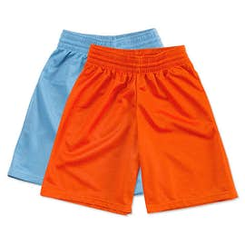 Teamwork Youth Fadeaway Mesh Basketball Shorts