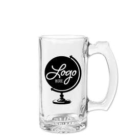 12 oz. Thumbprint Glass Tankard