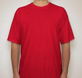 Gildan Ultra Cotton Tall T-shirt - Color: Red
