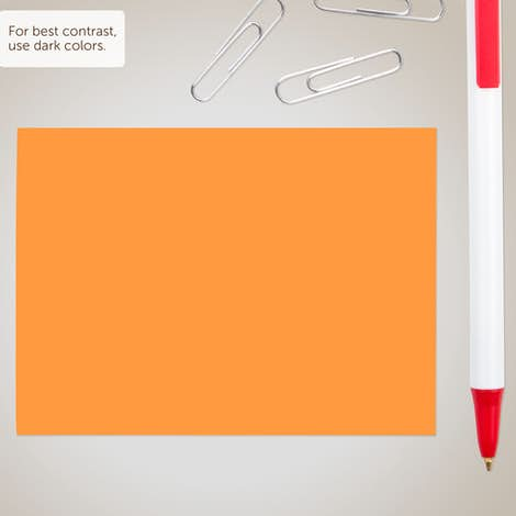"Neon - 3M Post-it® Note- 4"" x 3"" - 50 sheets/pad - Neon Orange"