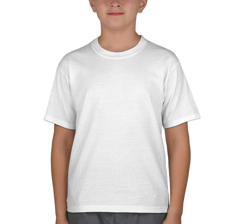Jerzees youth 50 50 t shirt design custom kids cotton for Custom 50 50 t shirts