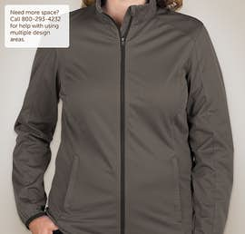 Port Authority Ladies Lightweight Active Soft Shell Jacket - Color: Grey Steel