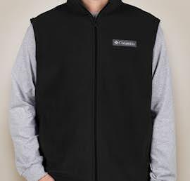 Columbia Cathedral Peak Fleece Vest - Color: Black