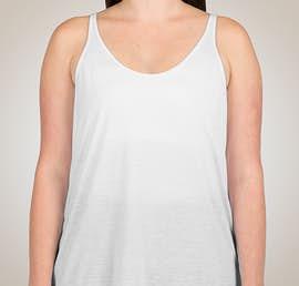 Bella Ladies Flowy Tank - Color: White