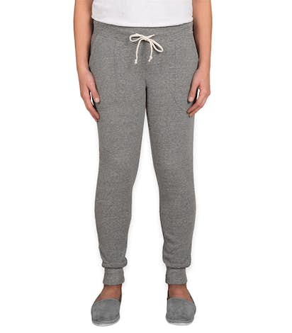 Alternative Apparel Juniors Jogger Sweatpants - Eco Grey