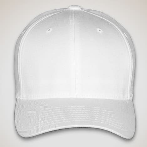 Yupoong Twill Flexfit Hat - White