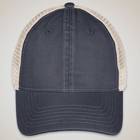 Comfort Colors Trucker Hat - Graphite / Ivory