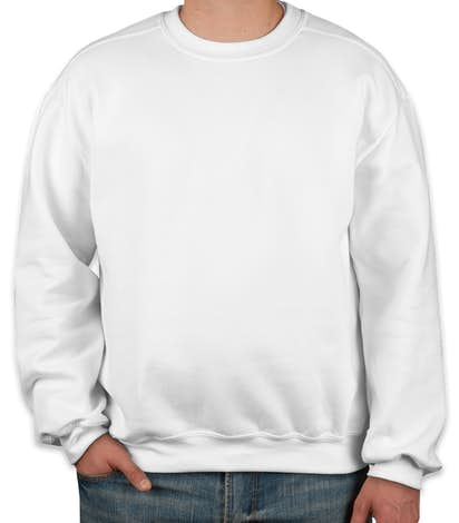 Canada - Gildan Premium Blend Midweight Crewneck Sweatshirt - White